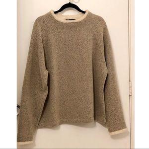Denim & Co fleece neck sweater size XL